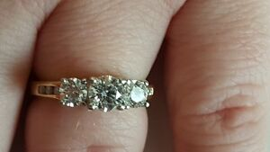 3 Stone Ring For Sale London Ontario image 1