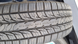 205/70R16  Less than 400km on tires