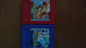 Pokemon Blue and Red