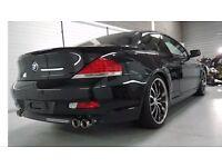 BMW 645 4.4 CI 6 Series Black 3 Door, Stunner, Loads of Extras, Well Kept, Baby Forces Sale