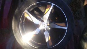 Set of of 17 inch rims