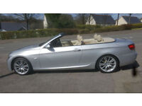 2008MY BMW 325i 3.0 M Sport Convertible * Sat Nav * Full S/History * 1 Owner *