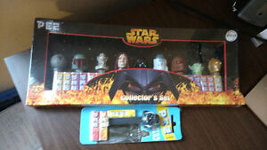 Star Wars Pez Sealed Set + Darth Vader! Great gift