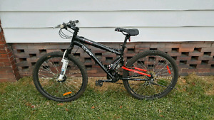 "CCM Static 26"" Full Suspension Mountain Bike"