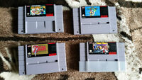 SNES Games for sale!