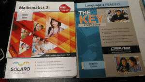 MOVING SALE GRADE 3 MATH AND ENGLISH PRACTICE WORK BOOKS