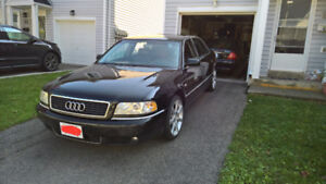 Selling 2001 Audi A8L in excellent condition