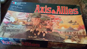1984 MILTON BRADLEY AXIS & ALLIES BOARD GAME