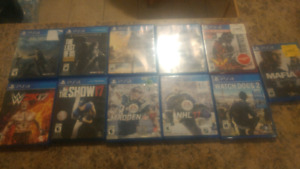 PS4 games for XMas
