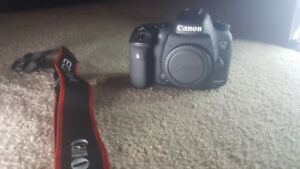 Canon EOS 7D Mark ii w/ 3 lens,2 batteries,2 64GB SD Cards & Rig