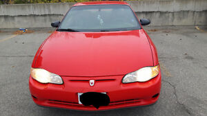 2001 Chevrolet Monte Carlo Coupe (2 door) Cambridge Kitchener Area image 3