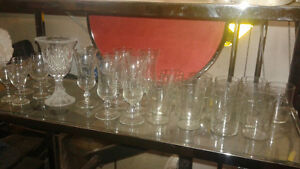 wine glasses(tumblers & stem ware) also beautiful wine rack Belleville Belleville Area image 3