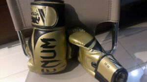 BOXING GLOVES - VENUM Challenger - 10 ounce Gold