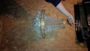 gold chandelier $25