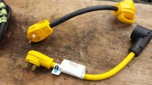 ATTENTION RV OWNERS-1- 30 AMP TO 50 AMP ADAPTOR CORD
