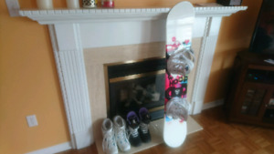 Perfect condition snowboarding package gently used
