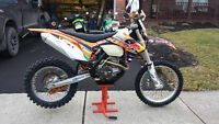 2012 KTM 500 EXC Y plated