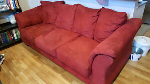 Beautiful Microfiber Couch!