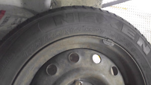Honda Fit Snow Tires and rims
