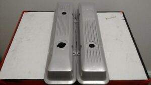 Rare 84 Chevy C4 Corvette SBC Factory Magnesium Valve Covers