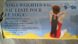 Yoga weighted bag