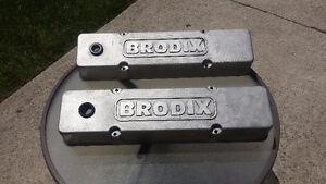 SBC 291 double hump heads 202's, bell housing, v-covers