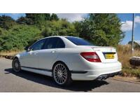 Mercedes-Benz C63 AMG 6.3 7G-Tronic 2008 AMG SALOON *68000 MILES* *IN WHITE*