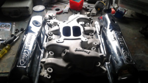 Complete top end for all block ford