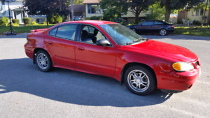 2003 Pontiac Grand am for sale! Parts car Inc.