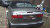 2001 Saab 9-3X leater Convertible