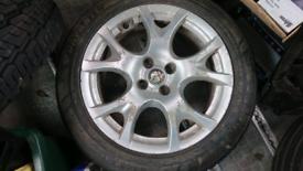 Alfa Romeo Wheel And New Tires