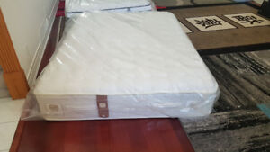 New Queen Mattress. S&F with Box Spring