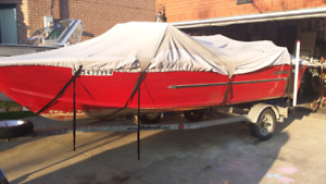 16ft aluminum starcraft boat with 70hp