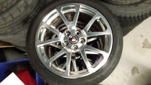 "2009-2014 Cadillac  CTS CTSV CTS-V 19"" wheels. *NOT PERFECT *"