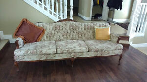 Gorgeous antique French Provincial Sofa and Chair