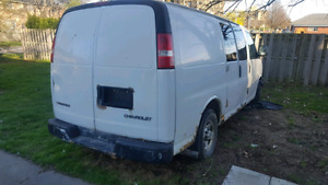 Chevy express truck for parts 1000 obo