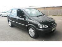 Vauxhall Zafira 1.6 Life, 55 plate, 7 seater.