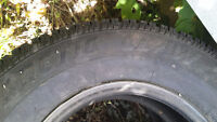 4 used arctic claw winter tires 275/70r16