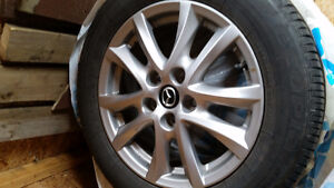 205/60R16 Tires and Rims for sale