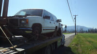 Scrap car removal , cash paid . Recycle your truck ,car or van .