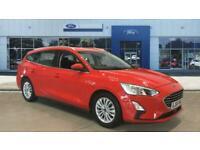 2018 Ford Focus 1.0 EcoBoost 125 Titanium 5dr Petrol Estate Estate Petrol Manual
