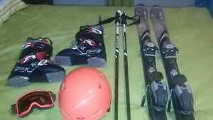 Ski gear package