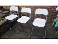 Ikea, FRANKLIN foldable bar stool/chair