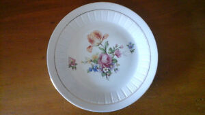 German Democratic Republic flower plate