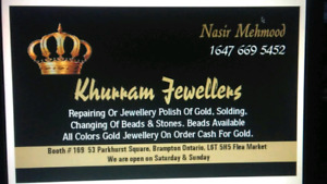 repair and polish all type of jewellery