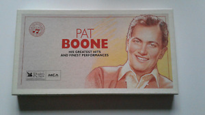 Pat Boone greatest hits cassettes