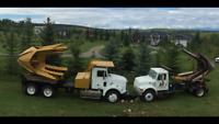 """90"""" Tree Spade and 68"""" Tree Spade for hire - Tree Moving"""