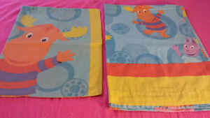 Backyardigan Single bed Sheet with Pillow Cover