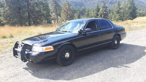 Crown Victoria P71 intercepter