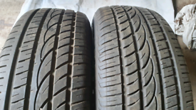 Tyres 225 65 17 and 255 65 17